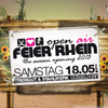 FEIER RHEIN &quot;THE SEASON OPENING 2013 V3&quot;